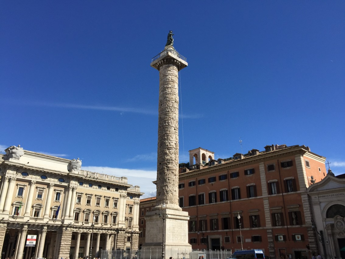 Il cielo di Roma, the sky of Rome